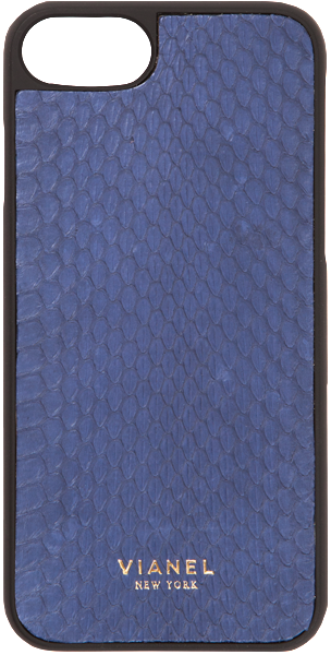 iPhone 7 and 8 Case - Snake - Navy
