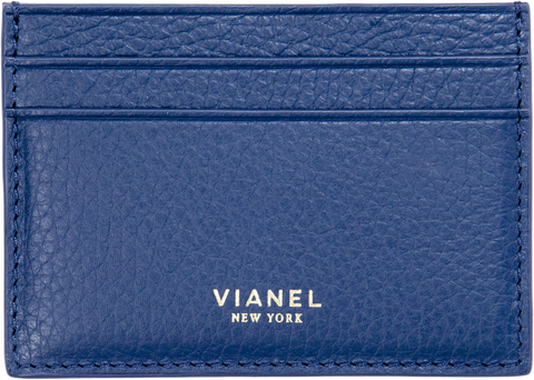 V3 Card Holder - Calfskin - Navy