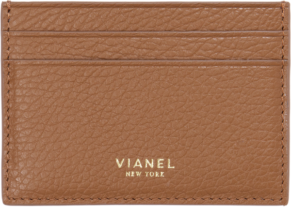 V3 Card Holder - Calfskin - Tan