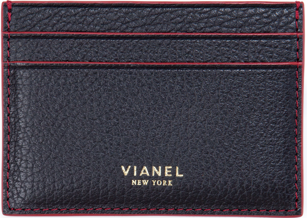 Calfskin / Black With Red | Front