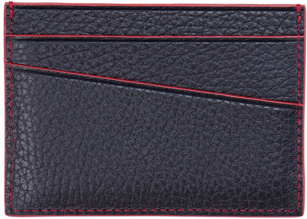 Calfskin / Black With Red | Back