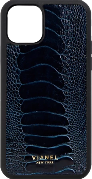 iPhone 11 Flex Case - Ostrich - Navy