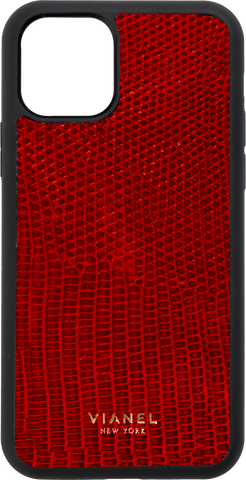 iPhone 12 Flex Case - Lizard - Red