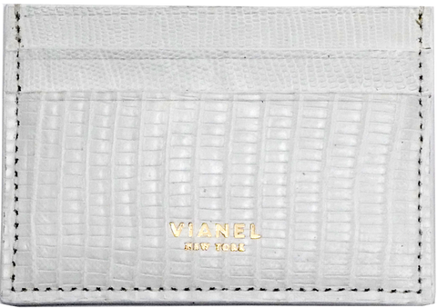 V3 Card Holder - Lizard - White
