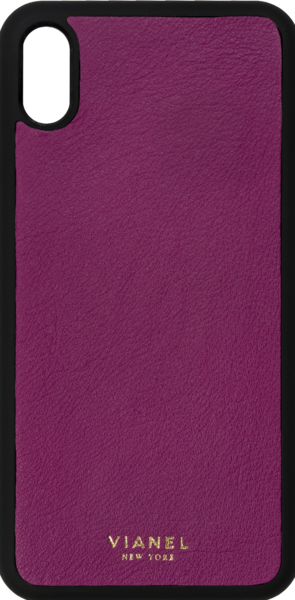 iPhone XR Flex Case - Calfskin - Orchid