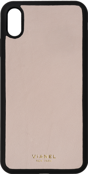 iPhone Xs MAX Flex Case - Calfskin - Blush