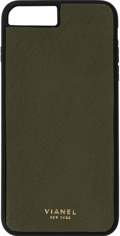 Calfskin / Military Green / More than 10 letters