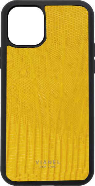 iPhone 12 Pro Flex Case - Lizard - Yellow