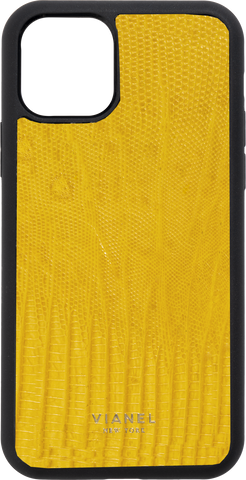 iPhone 12 Flex Case - Lizard - Yellow