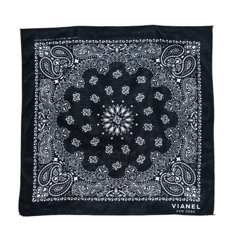 BANDANA - Cotton - Black