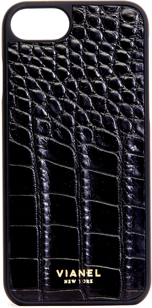 iPhone 7 and 8 Case - Alligator - Black