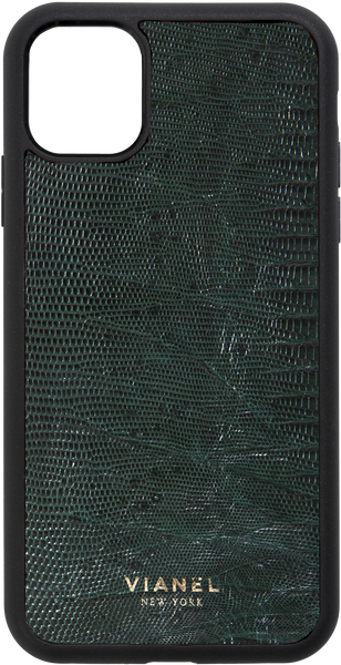 iPhone 11 Pro MAX Flex Case - Lizard - Forest Green
