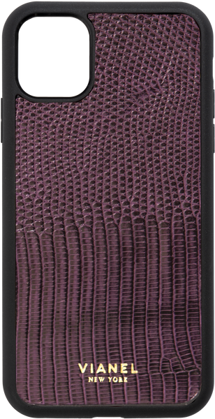 iPhone 11 Pro Flex Case - Lizard - Grape