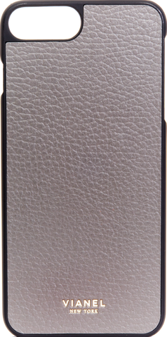 iPhone 7 Plus and 8 Plus Case - Calfskin - Fog