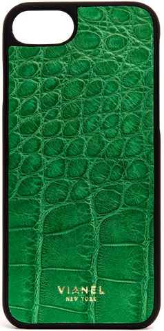 iPhone 7 and 8 Case - Alligator - Kelly Green