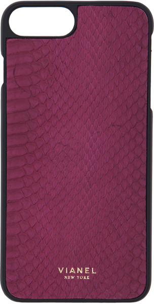 iPhone 7 Plus and 8 Plus Case - Snake - Wine