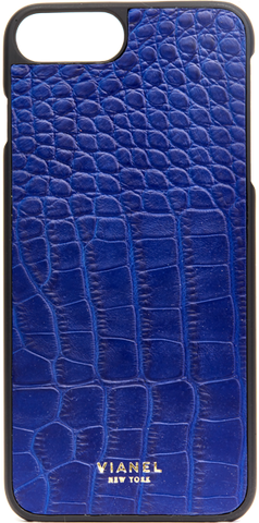 iPhone 7 Plus and 8 Plus Case - Alligator - Cobalt