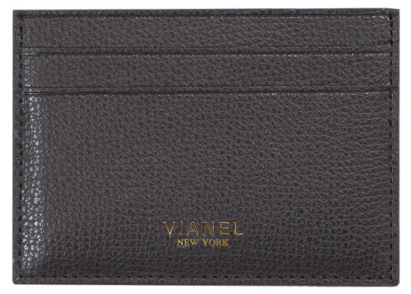 V3 Card Holder - Calfskin - Black