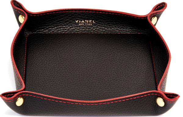 Calfskin / Black With Red