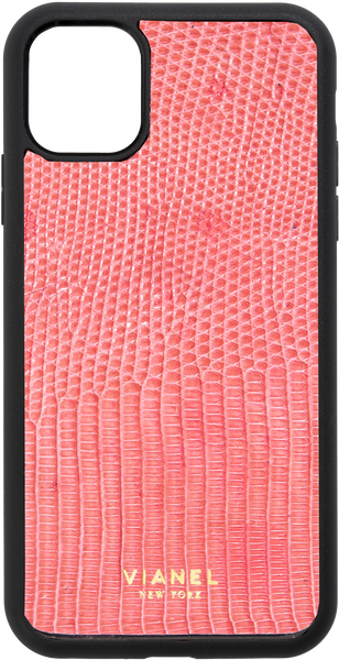 iPhone 11 Pro MAX Flex Case - Lizard - Pink