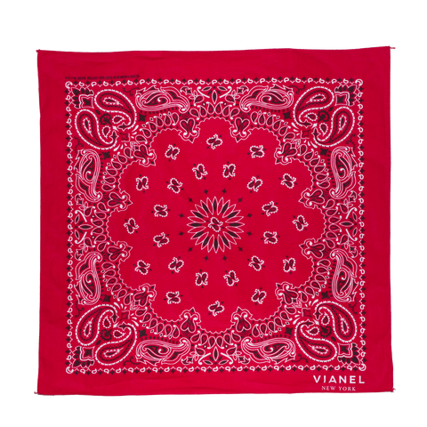 BANDANA - Cotton - Red