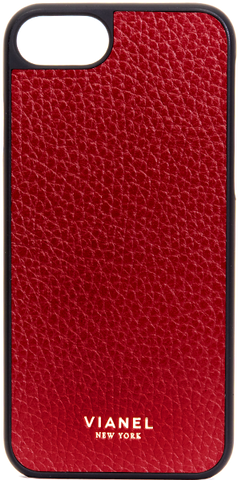iPhone 7 and 8 Case - Calfskin - Cremisi