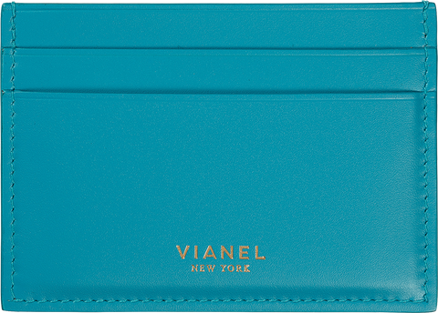 Calfskin / Turquoise | Front