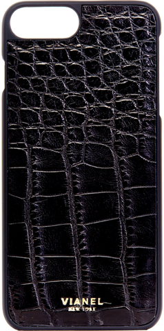iPhone 7 Plus and 8 Plus Case - Alligator - Black