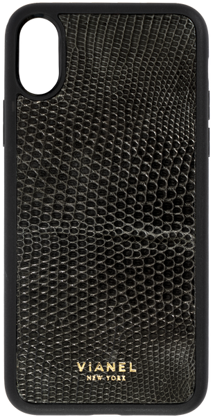 iPhone X and Xs Flex Case - Lizard - Dark Grey