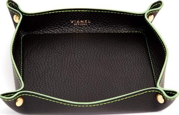 Calfskin / Black With Lime Green | Front