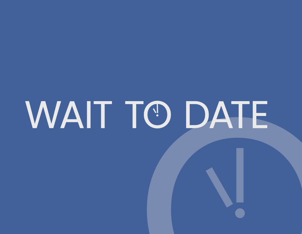 Wait to Date:  Dating and Purity Workshops / Retreat