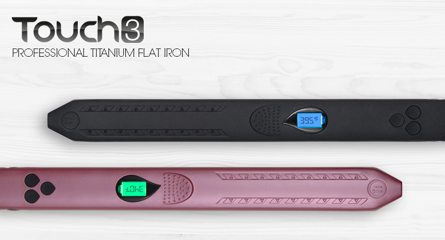 New Product! Our most advanced flat iron yet.