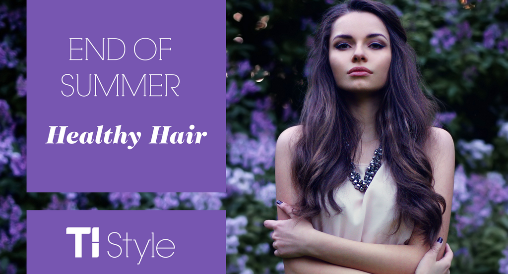 Healthy Hair Styles: End Of Summer Healthy Hair
