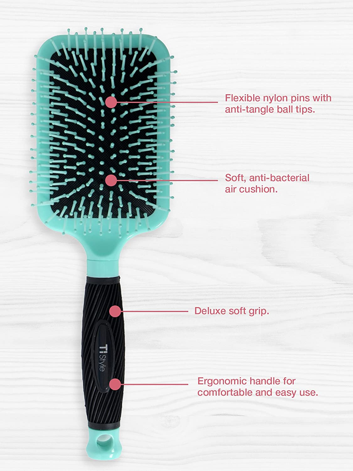 Better With Friends Paddle Brush