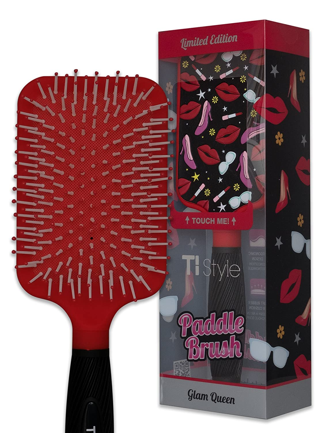 Heels and Lips Paddle Brush