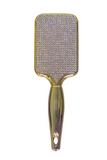 Ultimate Bling Gold Chrome Paddle Brush