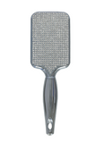 Ultimate Bling Silver Chrome Paddle Brush