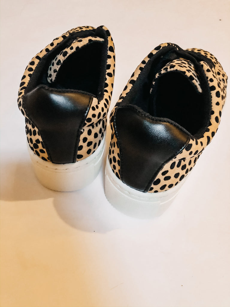 Cheetah Sister Sneakers