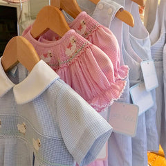 Baby, infant, toddler Easter dresses and outfits. Dressy, casual Easter for boys and girls.