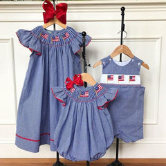 4th of July Children's Outfits and Clothing. July 4th Clothes. Red, white and blue for kids.