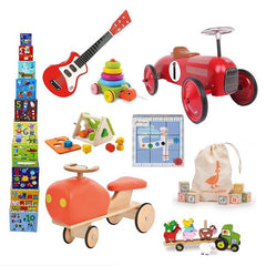 Children's wooden toys, newborn gifts, toddler puzzles.