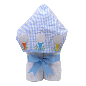 3 Marthas Golf Appliqued Everykid Bath Towel