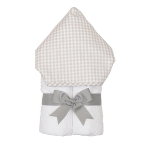3 Marthas Grey Check Everykid Towel - Madison-Drake Children's Boutique