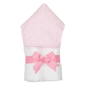 3 Marthas Pink Gingham Everykid Towel - Madison-Drake Children's Boutique