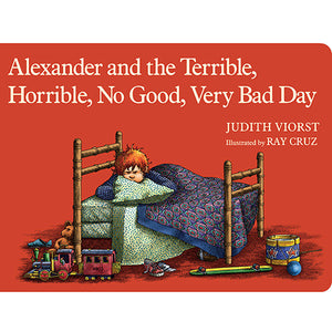 Alexander and the Terrible Horrible No Good Very Bad Day - Madison-Drake Children's Boutique