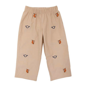 Beaufort Bonnet Toddler Boy's Critter Princeton Pants - Fox and Horn