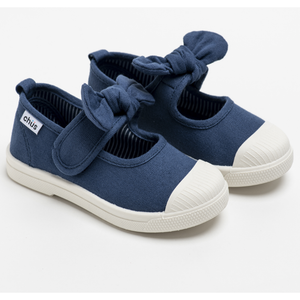 Chus Athena Navy Girls Shoes - Madison-Drake Children's Boutique