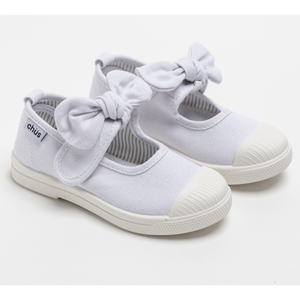 Chus Athena White Girls Shoes - Madison-Drake Children's Boutique