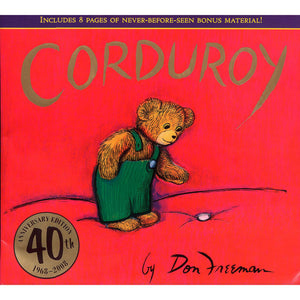 Corduroy, 40th Anniversary Edition - Madison-Drake Children's Boutique