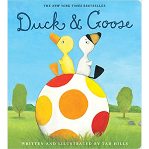 Duck & Goose Children's Board Book